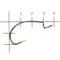 Крючок офсетный VARIVAS Hooking Master Rock Fish № 4/0 (5 шт.)