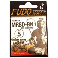 Крючок одинарный FUDO 4401 Maru Sode с кольцом № 1 BN (13 шт.)