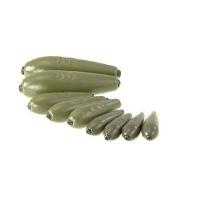 Груз BRISCOLA свинцовый оливка фиксир. 1 г (8 шт.)