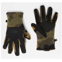 Перчатки TNF Men's Denali Etip Glove цвет Burnt Olive Green Woods Camo