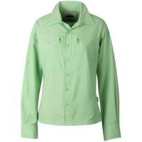 Рубашка женская CLOUDVEIL Cool LS Shirt цвет green