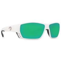 Очки COSTA DEL MAR Tuna Alley 580 P р. L цв. White цв. ст. Green Mirror