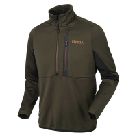 Толстовка HARKILA Tidan Hybrid Half Zip Fleece Jacket цвет Willow green / Black
