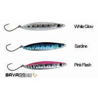 Пилькер SAVAGE GEAR Psycho Sprat 10 цв. Sardine, White Glow, Pink Flas