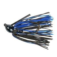 Бактейл STRIKE KING Pro-Glo Bitsy Bug mini jig 5,25 г (3/16 oz) цв. black / blue