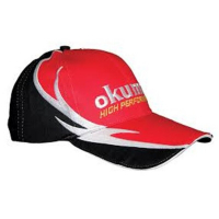 Кепка OKUMA Red Cotton Cap with fire pattern