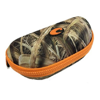 Чехол для очков COSTA DEL MAR Camo Sunglass Case цв. Mossy Oak Shadow Grass Blades Camo/Orange