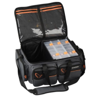 Набор SAVAGE GEAR коробки System Box Bag XL 3 Boxes + сумка Waterproof cover (25 x 67 x 46 см)