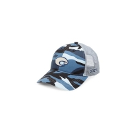 Бейсболка COSTA DEL MAR XL Logo Camo Trucker цв. Blue
