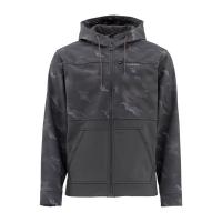 Куртка SIMMS Rogue Hoody цвет Hex Camo Carbon