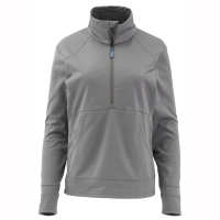 Пуловер SIMMS Ws Madison Fleece Popover цвет Lead