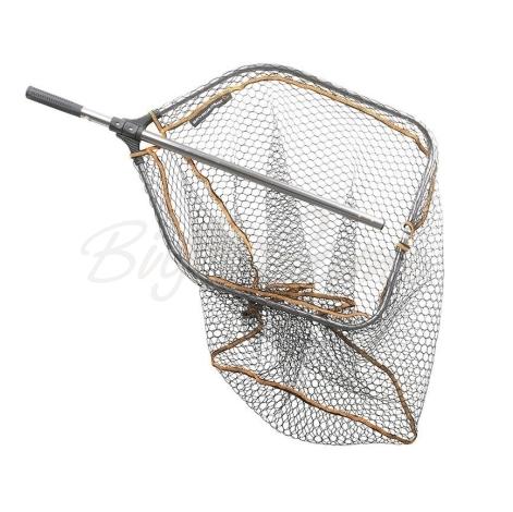 Купить подсачек SAVAGE GEAR Pro Tele Folding Rubber Large Mesh Landing Net р. L (65 x 50 см) в интернет магазине BigGame.ru в Санкт-Петербурге