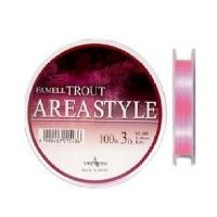 Леска YAMATOYO Famell Trout Area Style 100 м цв. Розовый 0,138 мм