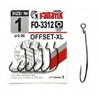 Крючок офсетный FANATIK FO-3312 № 3/0 (3 шт.)