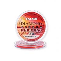 Леска SALMO Diamond Winter Red Mono 30 м 0,17 мм цв. красный