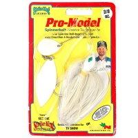 Спиннербейт STRIKE KING Pro-Model 10,5 г цв. white shiner