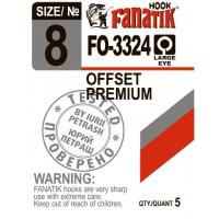 Крючок офсетный FANATIK FO-3324 № 1 (4 шт.)