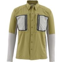 Рубашка SIMMS Taimen Tricomp Shirt цвет Army Green