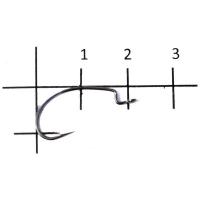 Крючок офсетный DECOY Kig Hook Worm 17 № 5/0 (5 шт.)