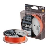Плетенка AKKOI Mask Ultra X4-110 110 м 0,18 мм цв. orange