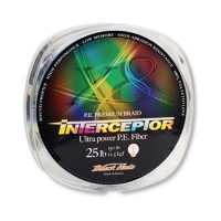 Плетенка BLACK HOLE Interceptor Multicolor 150 м 0,11 мм 4 нити In-11 № 0,4