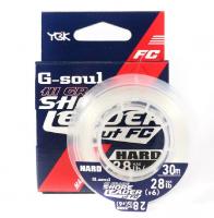 Флюорокарбон YGK G-soul Hi Grade Hard 100% Fluoro 30 м # 3