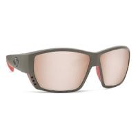 Очки COSTA DEL MAR Tuna Alley 580 GLS р. L цв. Race Gray цв. ст. Cooper Silver Mirror