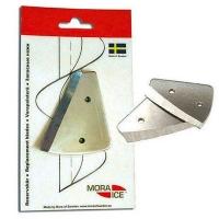Набор сменных ножей MORA ICE для ручного ледобура Micro, Arctic, Expert Pro 200 мм (с болтами для крепления)