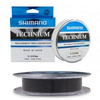 Леска SHIMANO Technium 200 м 0,205 мм цв. Черный