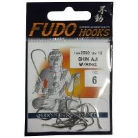 Крючок одинарный FUDO 2500 Shin-Aji с кольцом № 11 NK (17 шт.)
