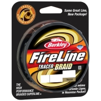 Плетенка BERKLEY Fireline Tracer Braid 110 м 0,14 мм 14,6 кг