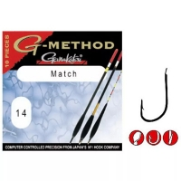 Крючок одинарный GAMAKATSU G-Method Match B № 10 (10 шт.)