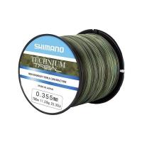 Леска SHIMANO Technium Trib PB 1100 м цв. камуфляж зеленый 0,305 мм