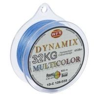 Плетенка WFT Round Dynamix цв. Multicolor 300 м 0,35 мм