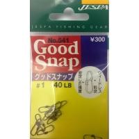 Застежка JESPA Yarie Good Snap № 541 р. 1 18,1 кг