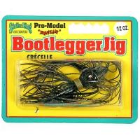 Бактейл STRIKE KING Bootlegger Jig 14 г (1/2 oz) цв. black