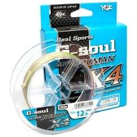 Плетенка YGK Real Sports G-Soul Super Jigman X4 200 м # 0,8
