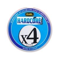 Плетенка DUEL PE Hardcore X4 200 м 5Color #0,4 (0,108 мм) 3,6 кг