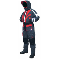 Комбинезон-поплавок SEAFOX Extreme 1Pc цвет черно-красный