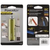 Usb-переходник NITE IZE PowerKey Apple Lightning цв. лайм
