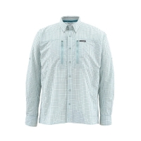 Рубашка SIMMS Bugstopper LS Shirt цвет Seafoam Plaid