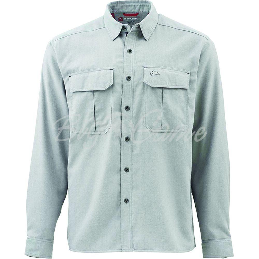 274011ccee1 Купить рубашку SIMMS Coldweather Shirt цвет Boulder в интернет ...
