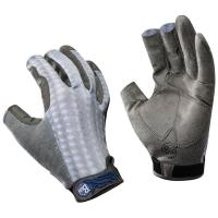 Перчатки рыболовные BUFF Pro Series Fighting Work Gloves цвет Grey Scale