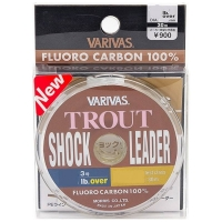 Флюорокарбон VARIVAS Trout Shock Leader Fluoro 30 м цв. прозрачный # 0,6