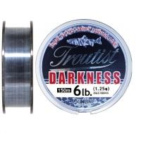 Леска SUNLINE Troutist Darkness 150 м цв. черный 0,165 мм