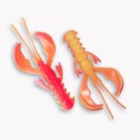 """Рак CRAZY FISH Nimble 2,5"""" (7 шт.) зап. кальмар, код цв. 13d"""