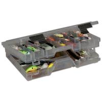 Коробка PLANO 4700-00 (3600) для приманок двухуровневая,13-45 отсеков