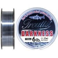 Леска SUNLINE Troutist Darkness 150 м цв. черный 0,104 мм