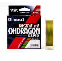 Плетенка YGK G-soul Ohdragon WX4-F1 150 м цв. Многоцветный # 2