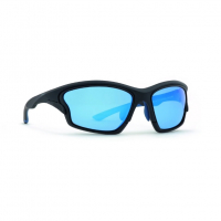 Очки INVU Activity мужские A2902A сменные линзы цв. матовый черный с синим цв.ст. 1- синий зеркальный,2- серый